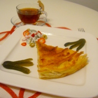 BOREK WITH MINERAL WATER