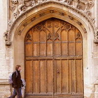 2- GORGEOUS ANCIENT DOORS IN OXFORD/ UK