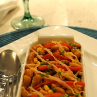 RED KIDNEY BEAN & BEAN SPROUT SALAD